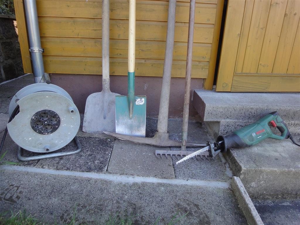 Die Werkzeuge.